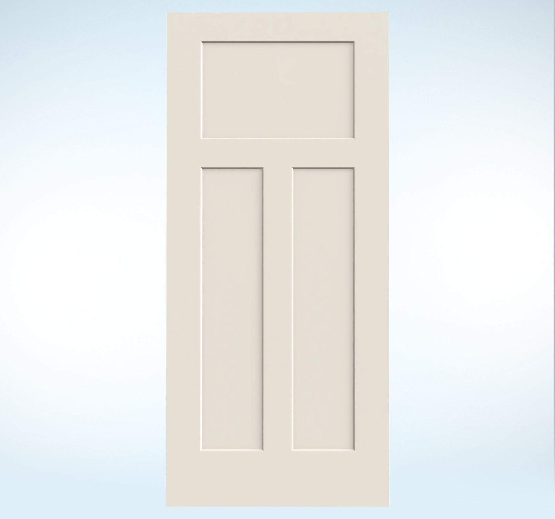 Mobile Home Cottage Door: Craftsman Interior Door -like Look Molded Wood Composite