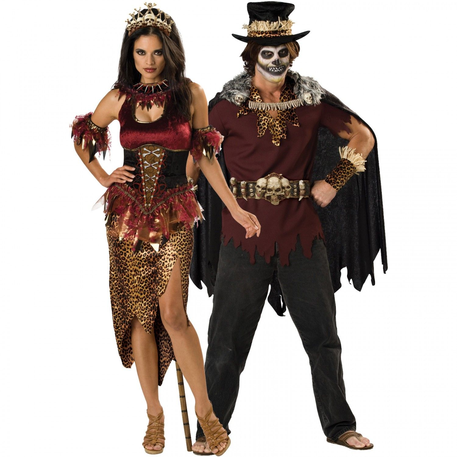 voodoo-dolly-and-witch-doctor-couples-costume.jpg (1500×1500 ...