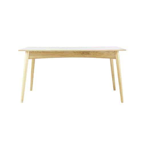 Witte Eettafel 220 Cm.Witte Uitschuifbare Eettafel Voor 6 A 10 Personen L150 220 In 2018