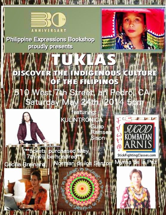 Filipino American Authors at TUKLAS Exhibit, San Pedro, CA