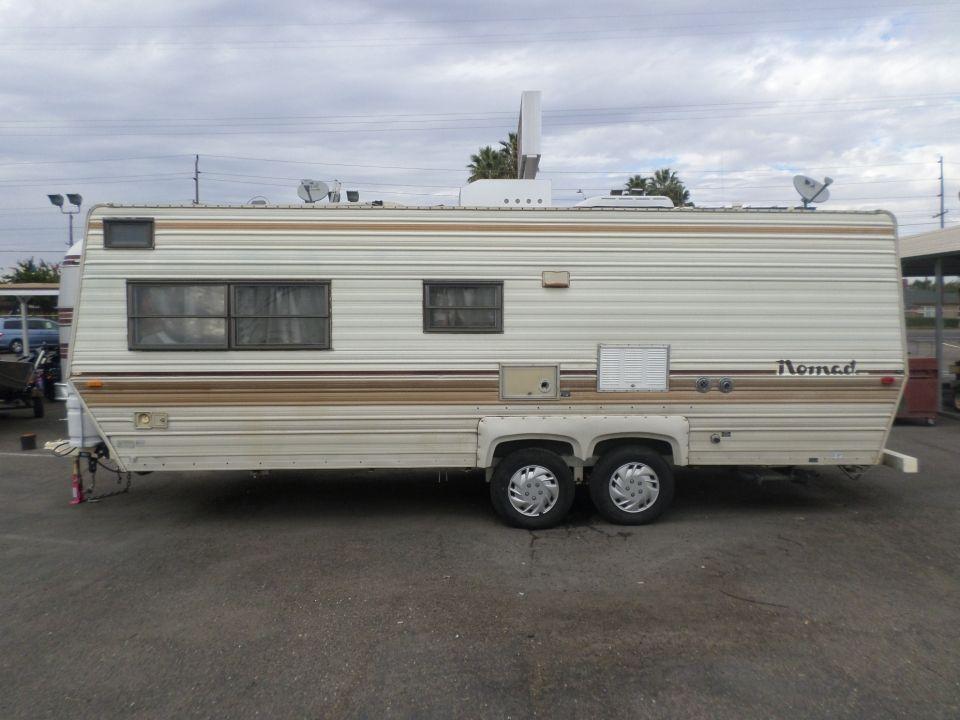 1986 Skyline Nomad Bunk House Travel Trailer | Travel ...