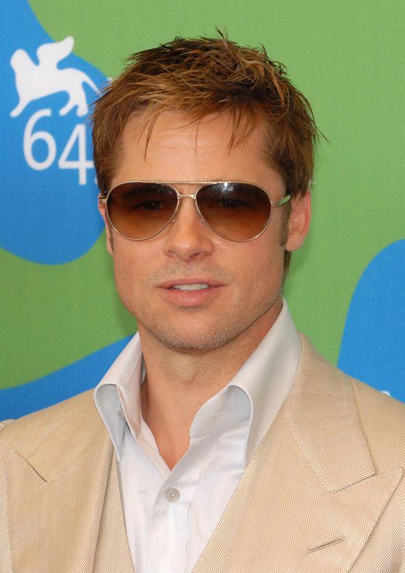 SPOTTED! Brad Pitt wearing the Dita Eyewear Ambassador ...