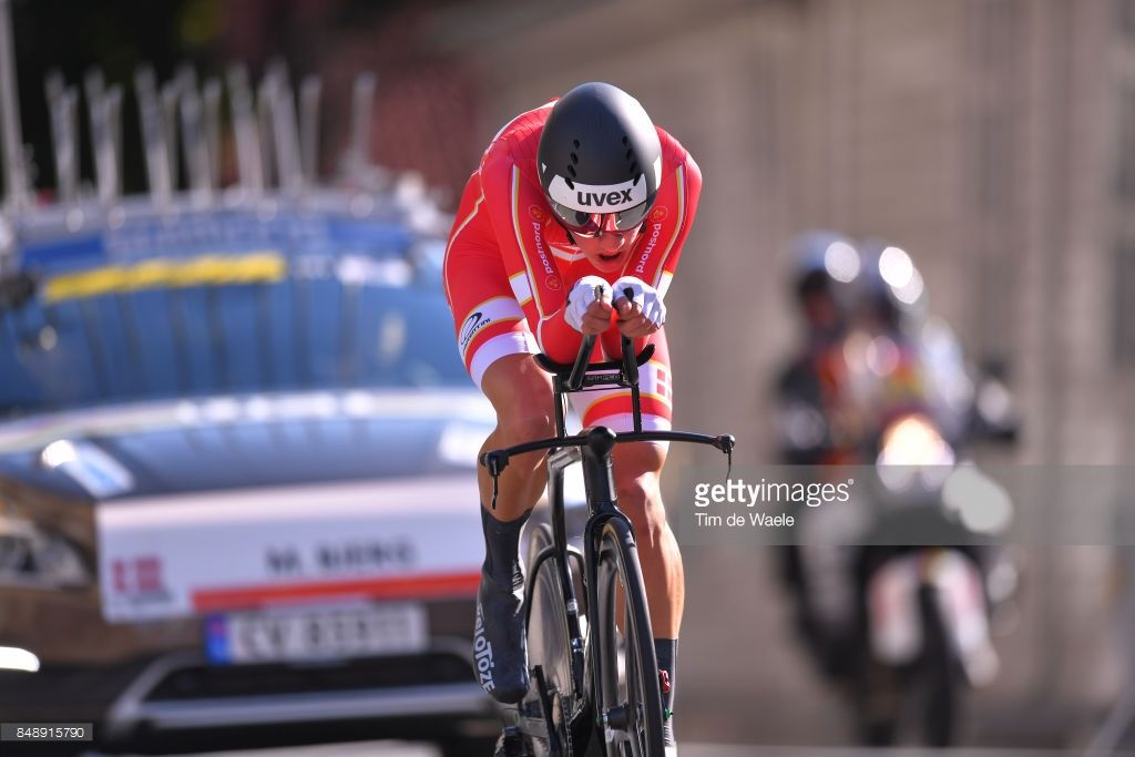 #Bergen2017 90th Road World Championships 2017 / ITT Men Under 23 Mikkel BJERG (DEN)/ Bergen - Bergen (37,2km) / Individual Time Trial / ITT / Bergen / RWC /