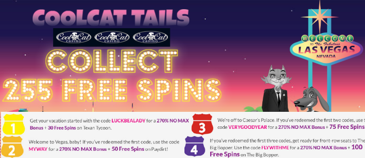 Exclusive Cool Cat casino bonus codes Casino bonus