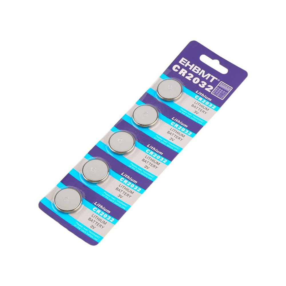 5pcs Lot Cr2032 3v Cell Battery Button Battery Coin Battery Cr 2032 Lithium Battery For Watches Clocks Calculators 계산기 시계 동전