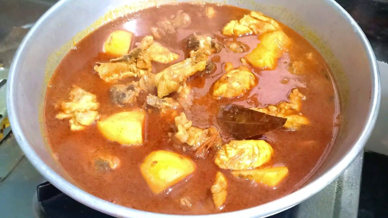 pin on bengali style chicken curry recipe home style pinterest