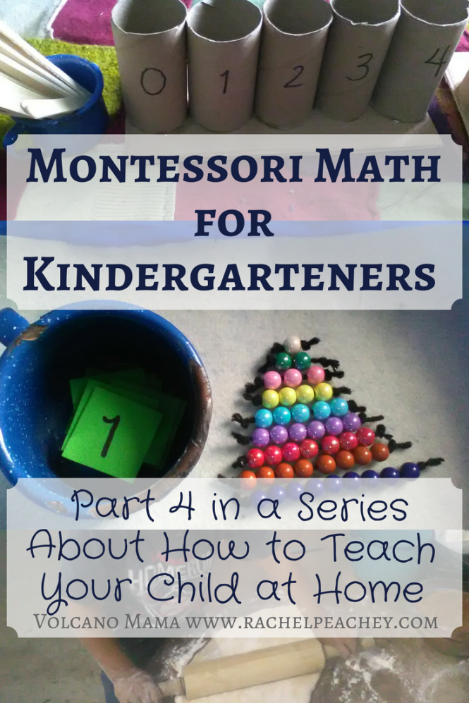 Photo of Montessori Math for Kindergarteners: Part 4 in a Series About How to Teach Your Child at Home