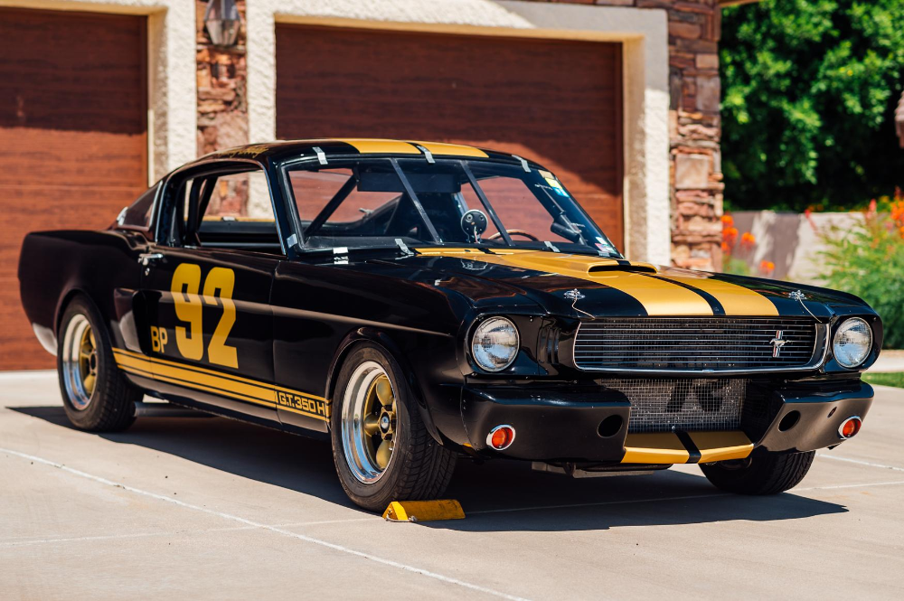 1966 Shelby Mustang Gt350h Race Car Mustang Race Cars Classic Cars