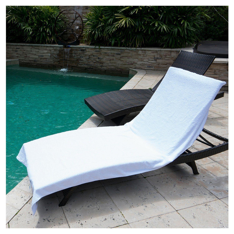 Winter Park Royal Supima Bath Towels White Pool Lounge Pool Chairs Pool Lounge Chairs