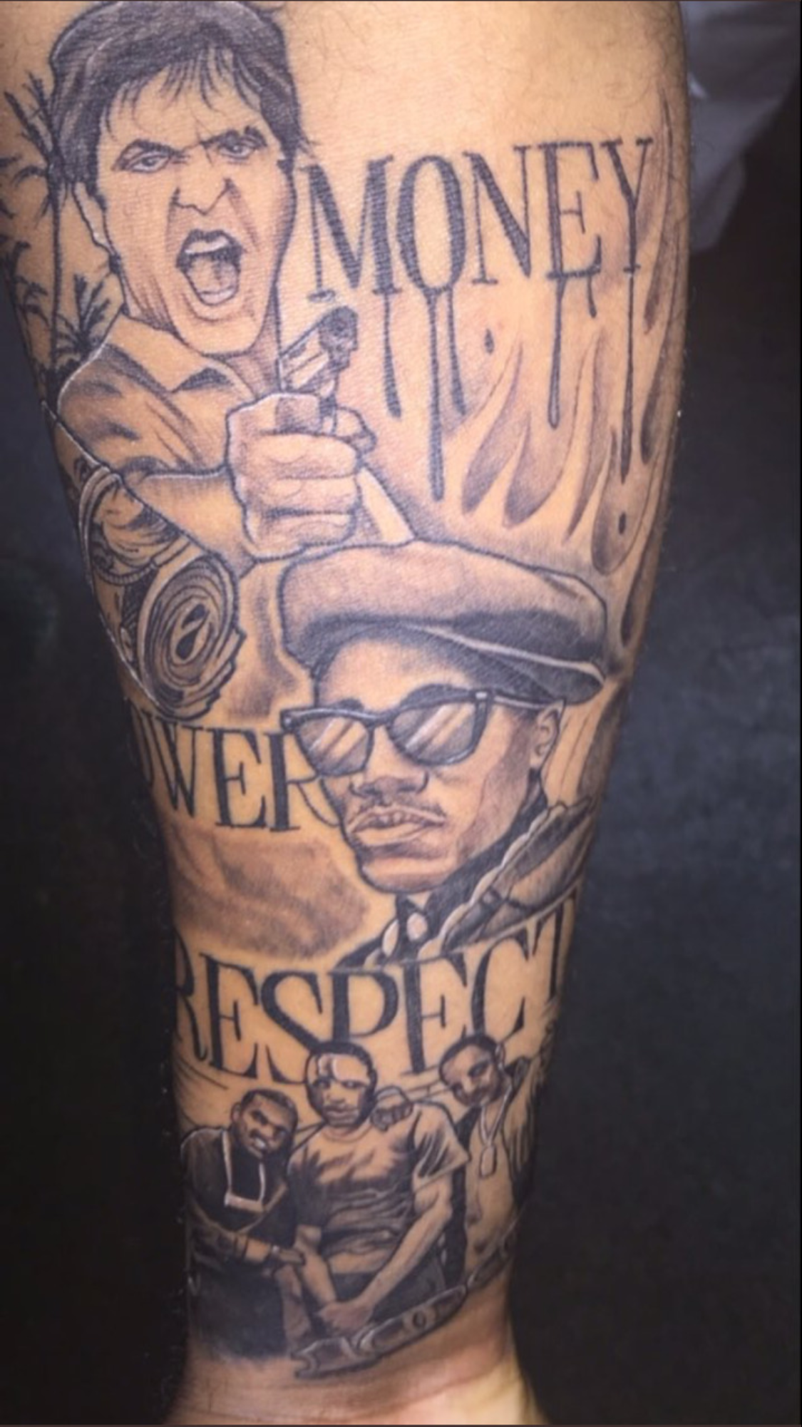 Gangster Monopoly Man Tattoo : gangster, monopoly, tattoo, @shesoglorious❄️, Sleeve, Tattoos, Guys,, Forearm, Tattoo, Quotes,