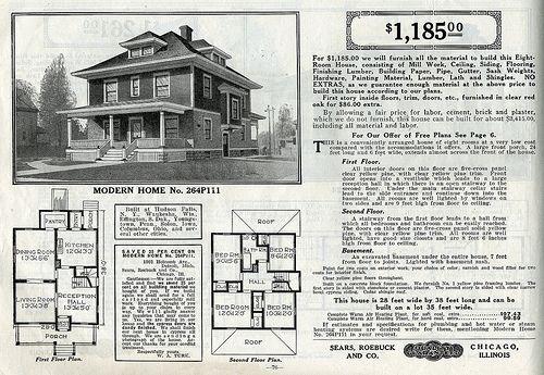 American Foursquare House Plans 22 Sears Foursquare The Clarissa Or 264p127 Four Square Homes Farmhouse Floor Plans House Plans