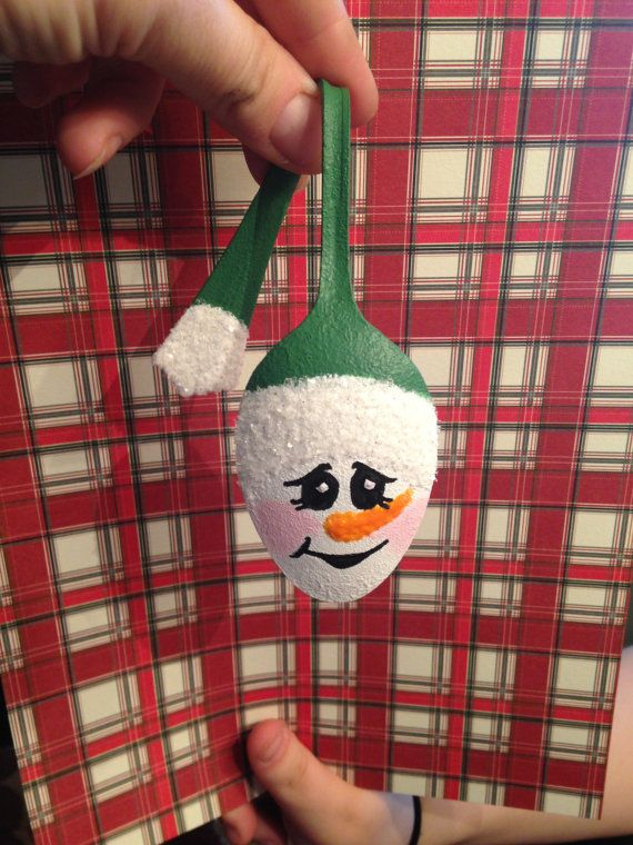 Spoon+Snowman+Ornament+by+RitziesCreations+on+Etsy