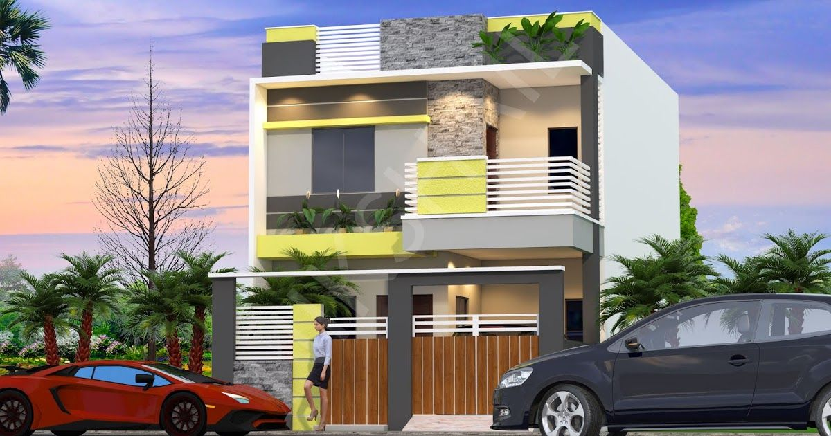 20x40 House Plan With 3d Elevation By Nikshail Youtube In 2020 20x40 House Plans House Plans Duplex House Design