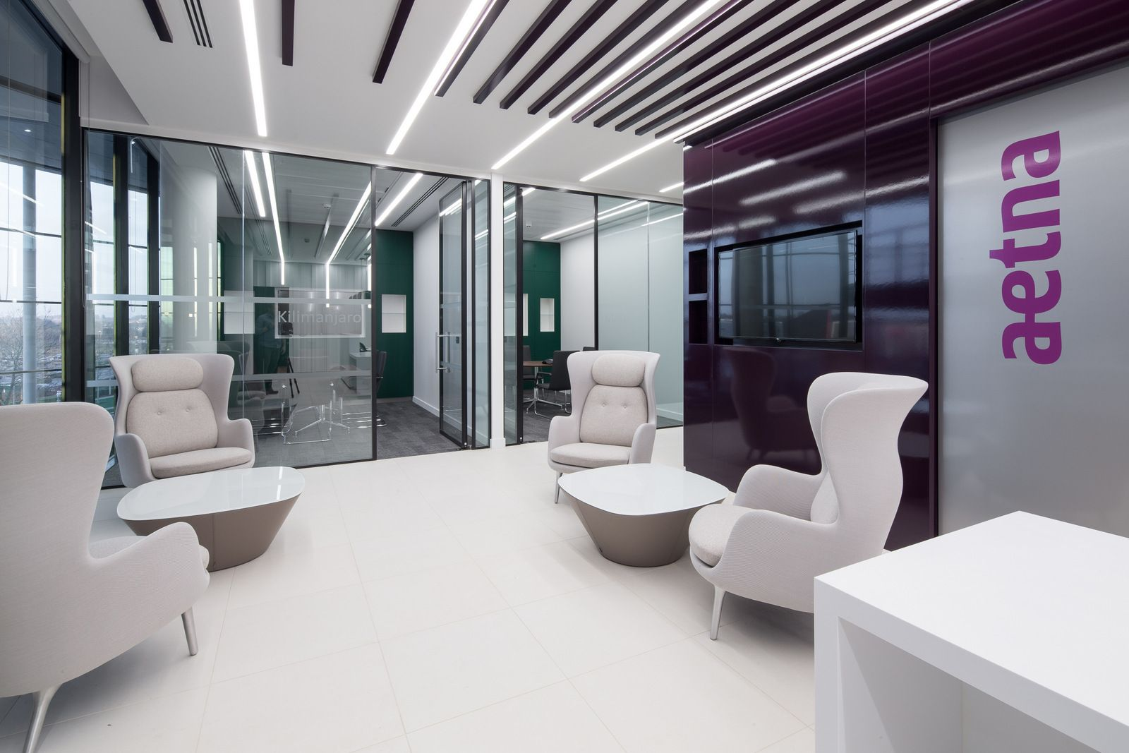 Office Tour Aetna Offices Farnborough Interior Architecture
