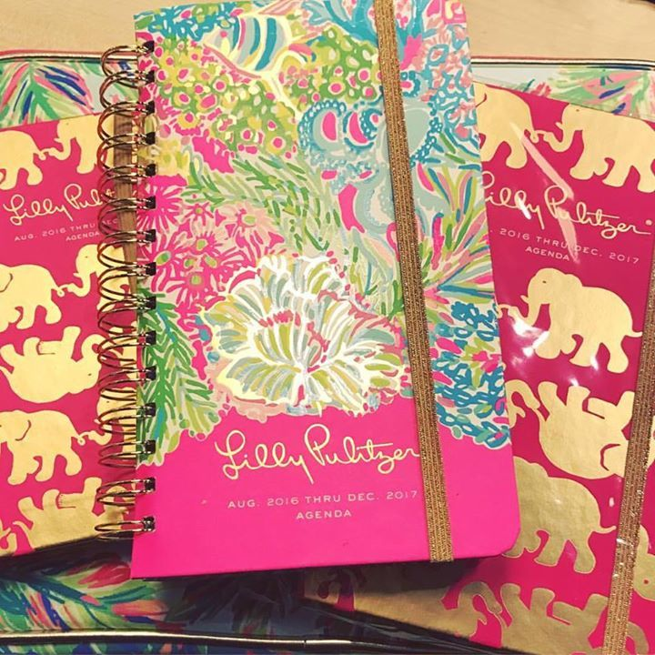 Take 50% off in stock Lilly Pulitzer agendas!!! Ends Tuesday(jan3)! #2017 #nye #lillyp #lillypulitzer #goodbye2016 #agenda