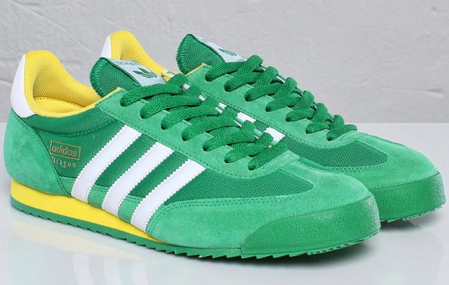 adidas dragon green yellow
