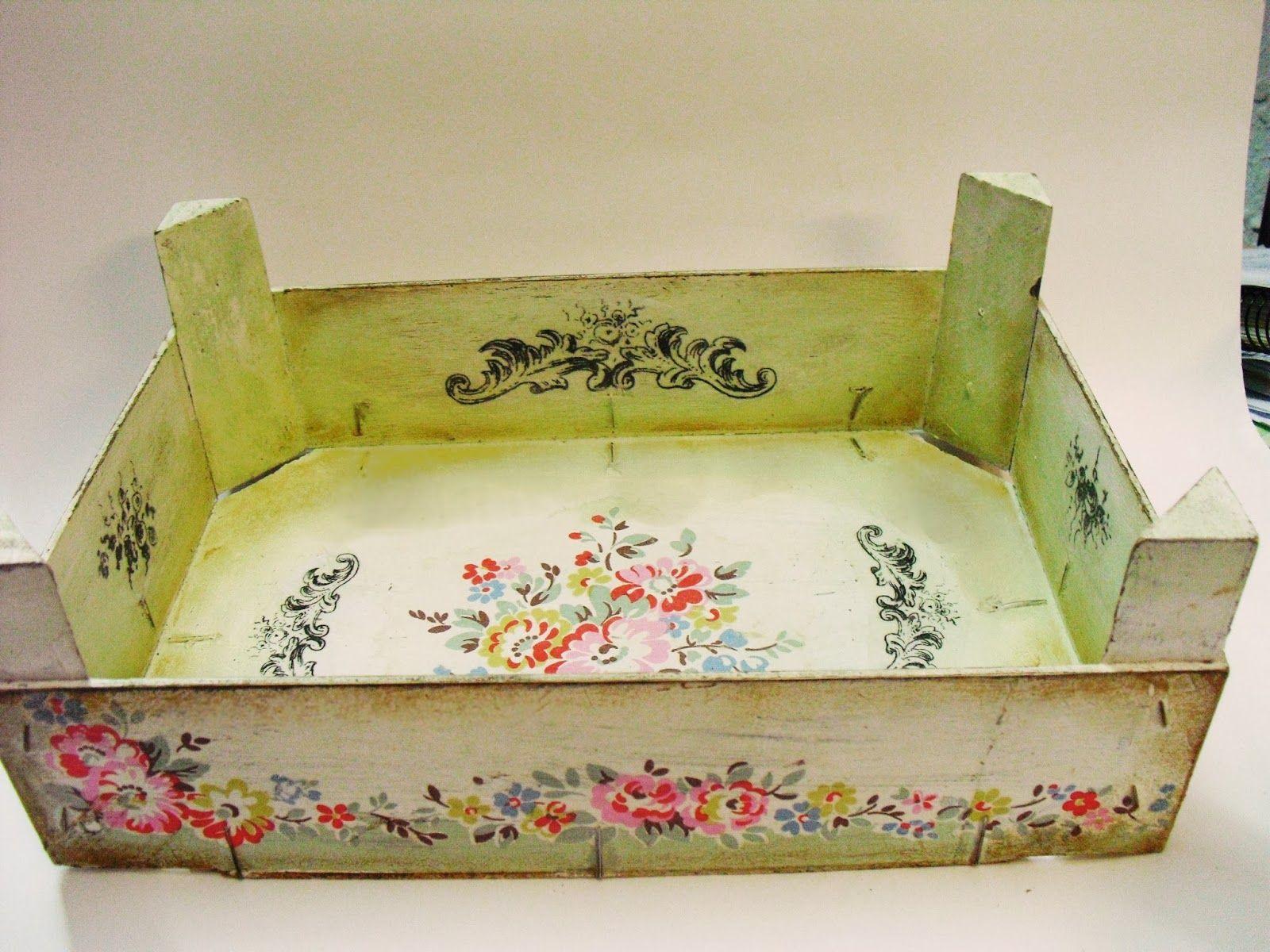 Expresiones cajas de fresas cajas de frutas decoradas - Cajas de fresas decoradas paso a paso ...
