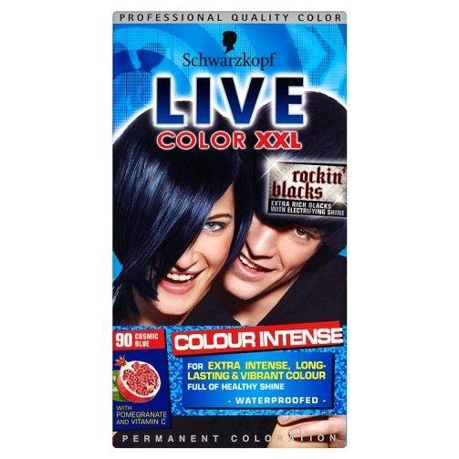 Schwarzkopf Live Xxl Colour Intense Cosmic Blue For 5 33