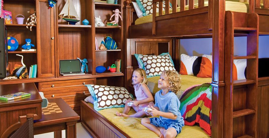 Kids Room At Beaches Turks Bunk Bed Trundle 3 Kids