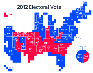 United States presidential election, 2012 - Wikipedia, the free ...