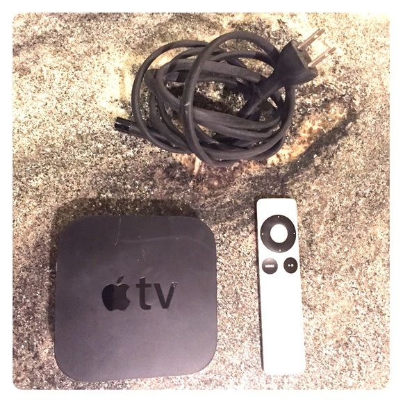 Apple Tv 1st Generation Comes With Remote And Cable Used Maybe 3 Times And Then Put Away Other With Images Apple Tv Tvs Apple