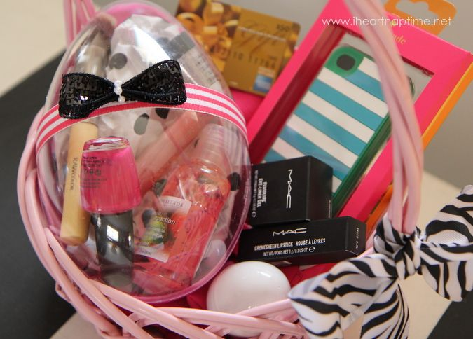 Girls teen easter basket and a few other basket ideas via girls teen easter basket and a few other basket ideas via iheartnaptime negle Image collections
