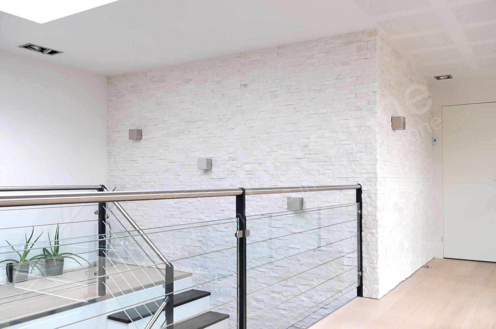 Rstone norstone white residential denmark