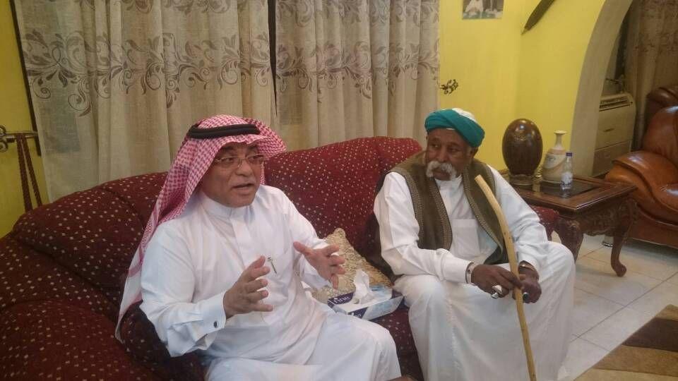 السفير السعودي يزور الدكتور علي مهدي مهنئاً