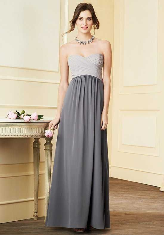 Alfred Angelo Signature Bridesmaids Collection 7289L Strapless ...