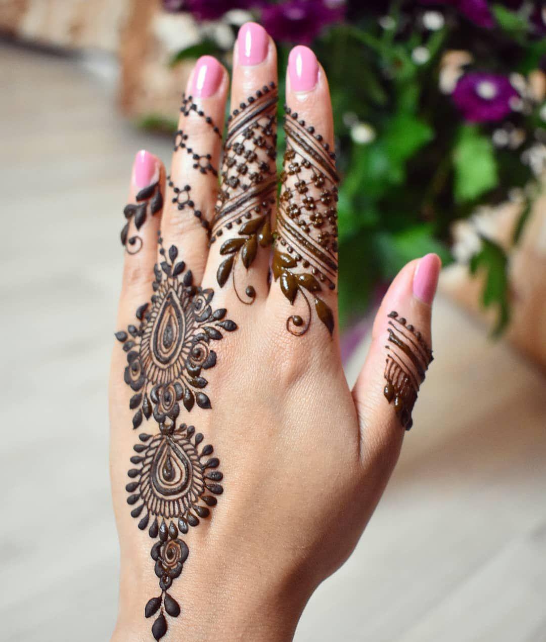 Henna Art By Aroosa On Instagram Simple And Sweet Design Inspired By Henna Nurahshenna