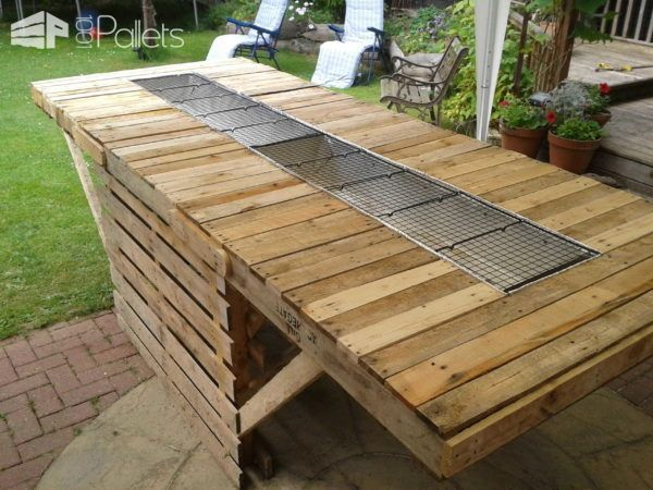 17 Summer Holiday Pallet Project Ideas! DIY Pallet BarsLounges & Garden SetsPallet Desks & Pallet Tables