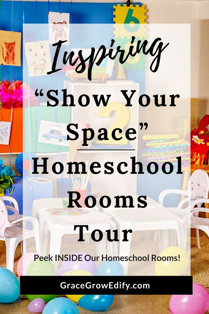 """Photo of Inspiring """"Show Your Space"""" Homeschool Rooms & Spaces Tour"""