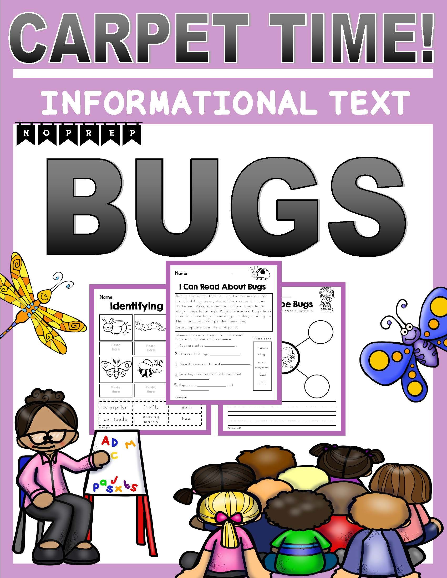 Bugs Informational Text