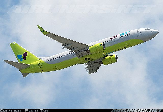 Boeing 737-8B5 aircraft picture
