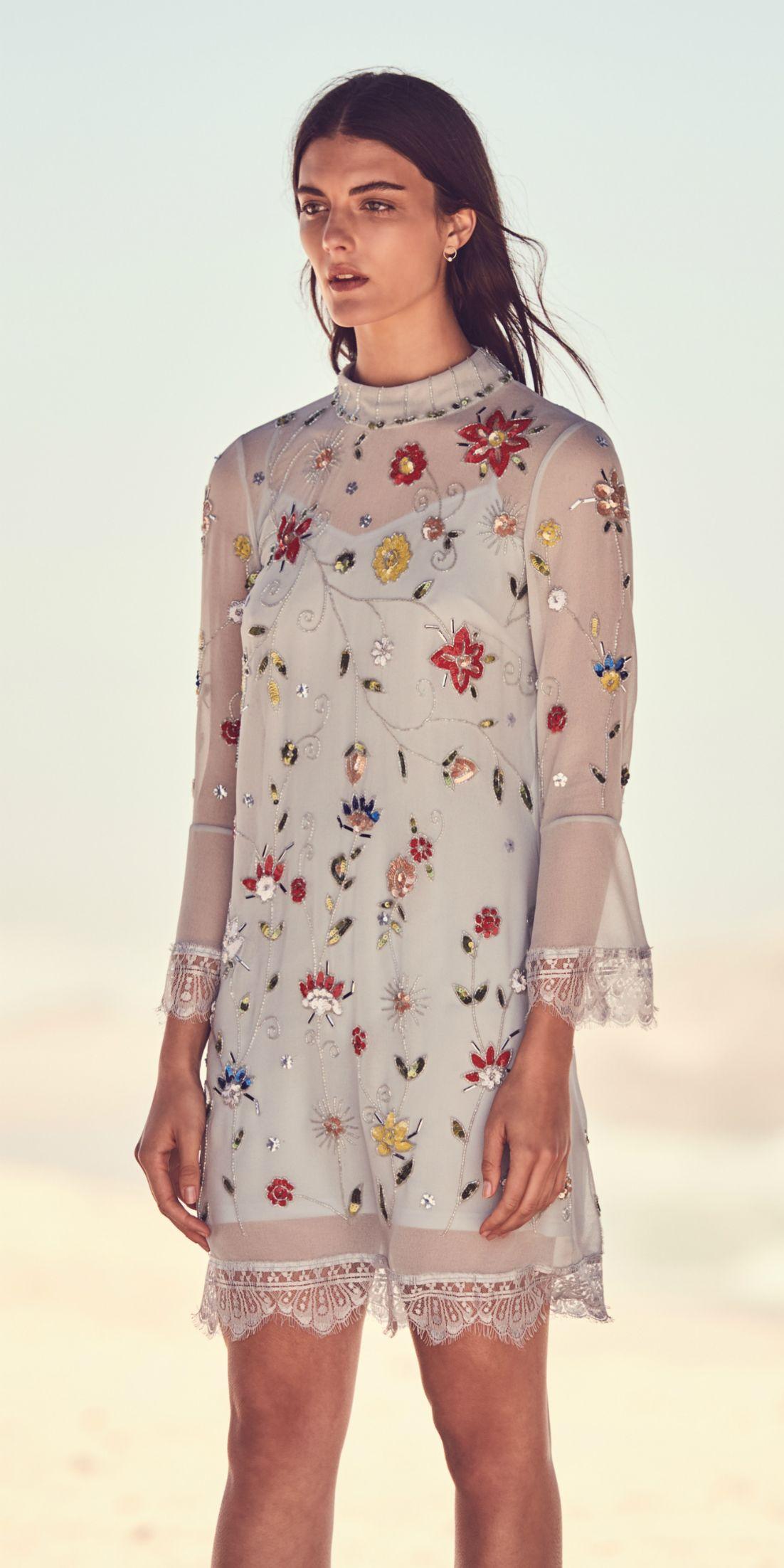 summer dresses | kleider, sommerkleid, floral tops