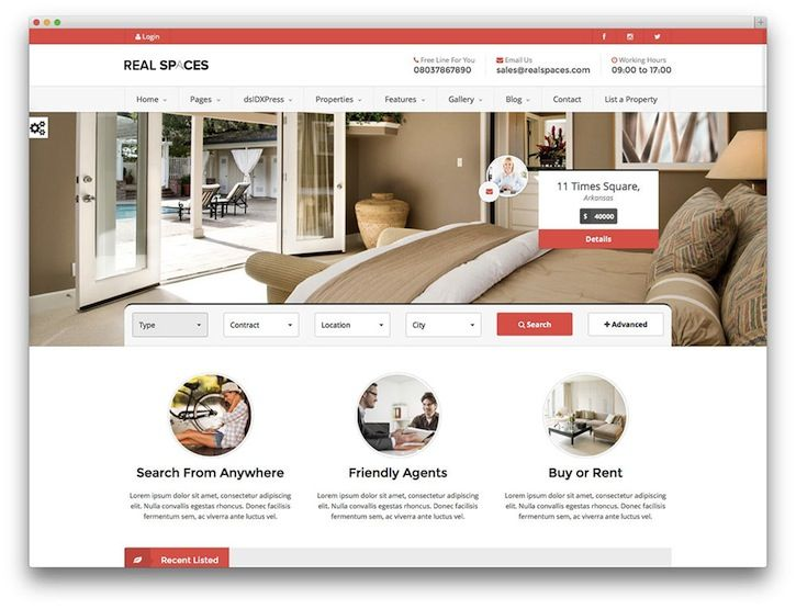 50 Stylish and Responsive Real Estate WordPress Themes (Part 2)