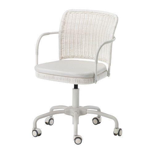 Drehstuhl weiß holz  Inspiration für Stuhl - GREGOR Drehstuhl - -, weiß/Vittaryd ...