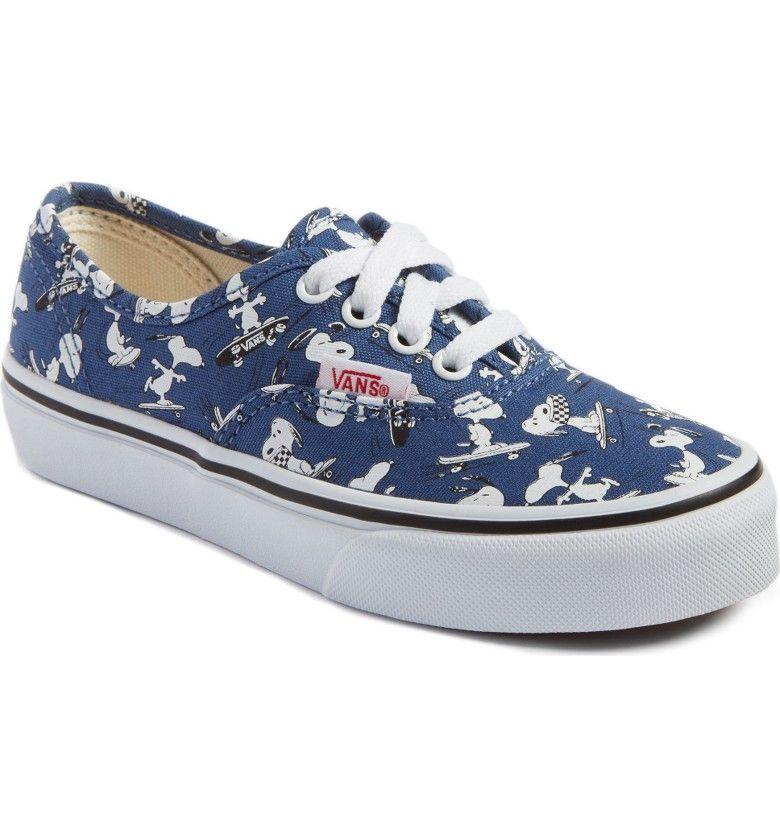 f3e7a3916705 Main Image - Vans x Peanuts Authentic Sneaker (Toddler