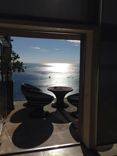 goodmorning at hotelmontetauro sun is shining