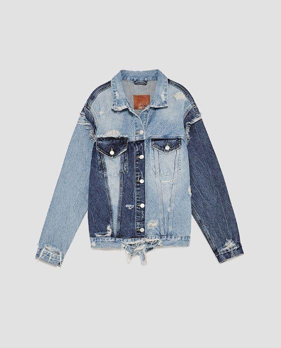 Image 11 of VINTAGE DENIM JACKET from Zara | Fall Wardrobe ...