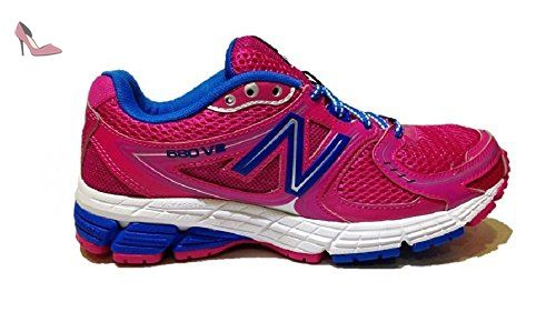 New Balance W680PU2, Baskets basses femme - Rose - rose, 38 - Chaussures new 87df67342908