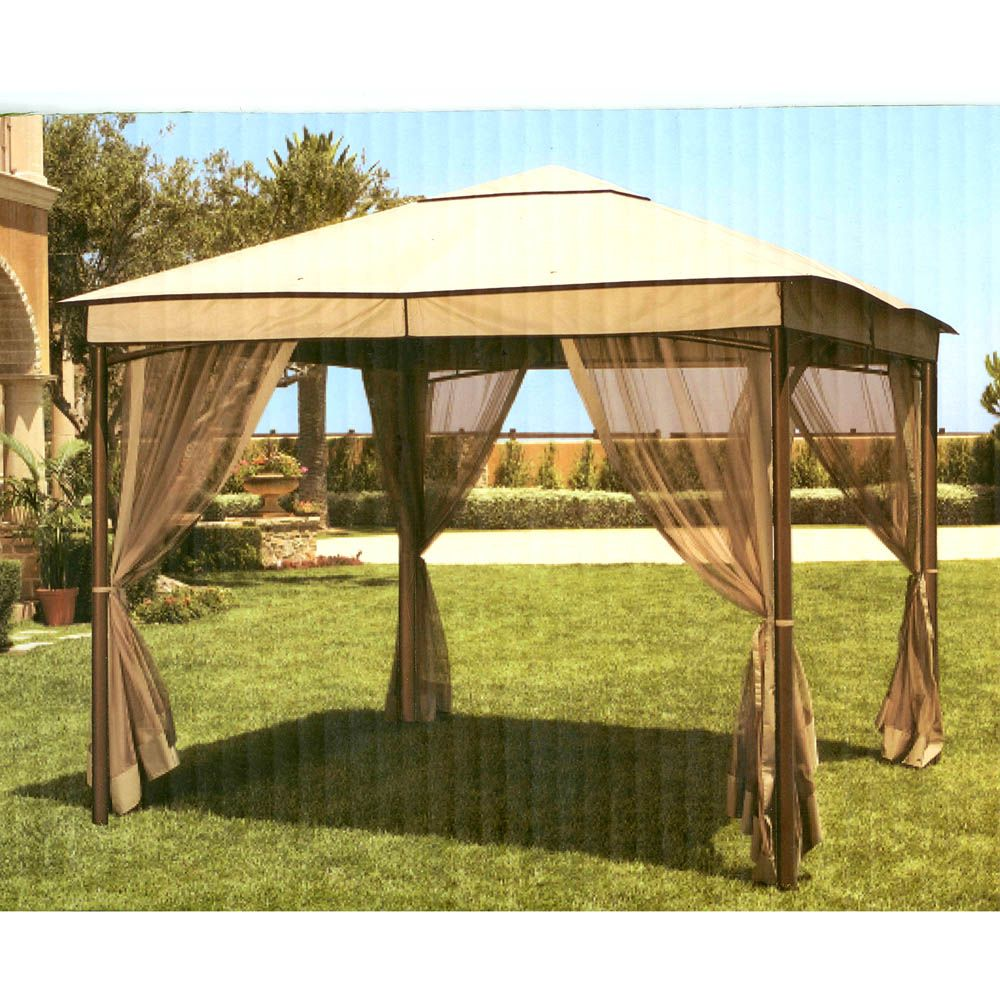Kohls 2009 Sonoma Outdoors Canopy Replacement Gazebo Replacement Canopy Gazebo Replacement Canopy