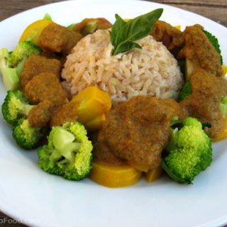 Curry Vegetables & Rice