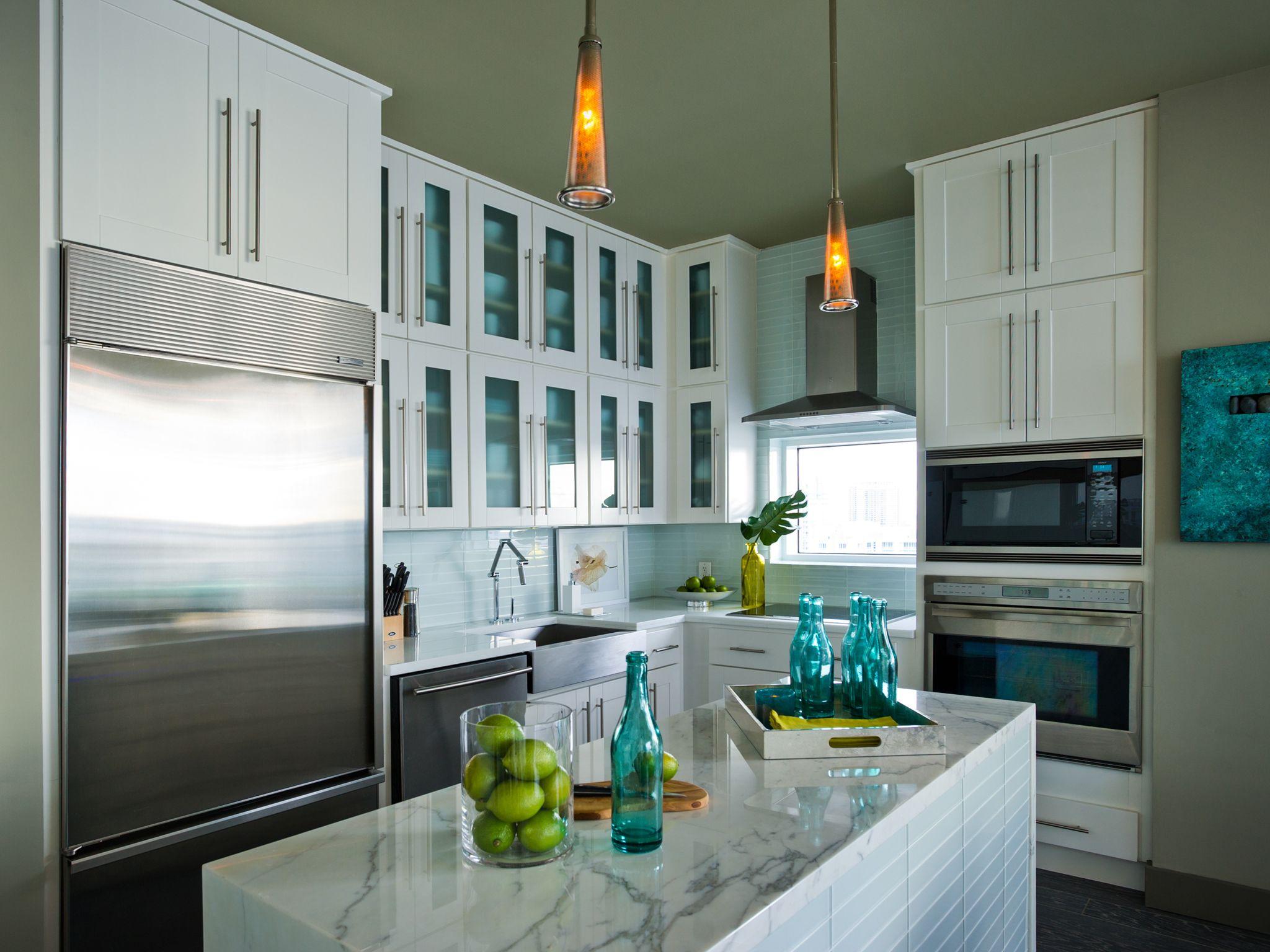 Kitchen of the HGTV Urban Oasis 2012 located in Miami, FL.   Ideas ...