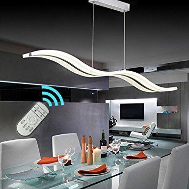 Lampadaricreate for life design moderno ciondolo led luce plafoniera lampadario appeso lampada per