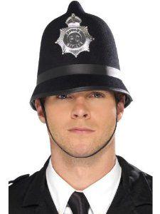 Amazon Com Felt Bobby Costume Police Officer Hat Clothing Hats For Men Police Hat Policeman Costume