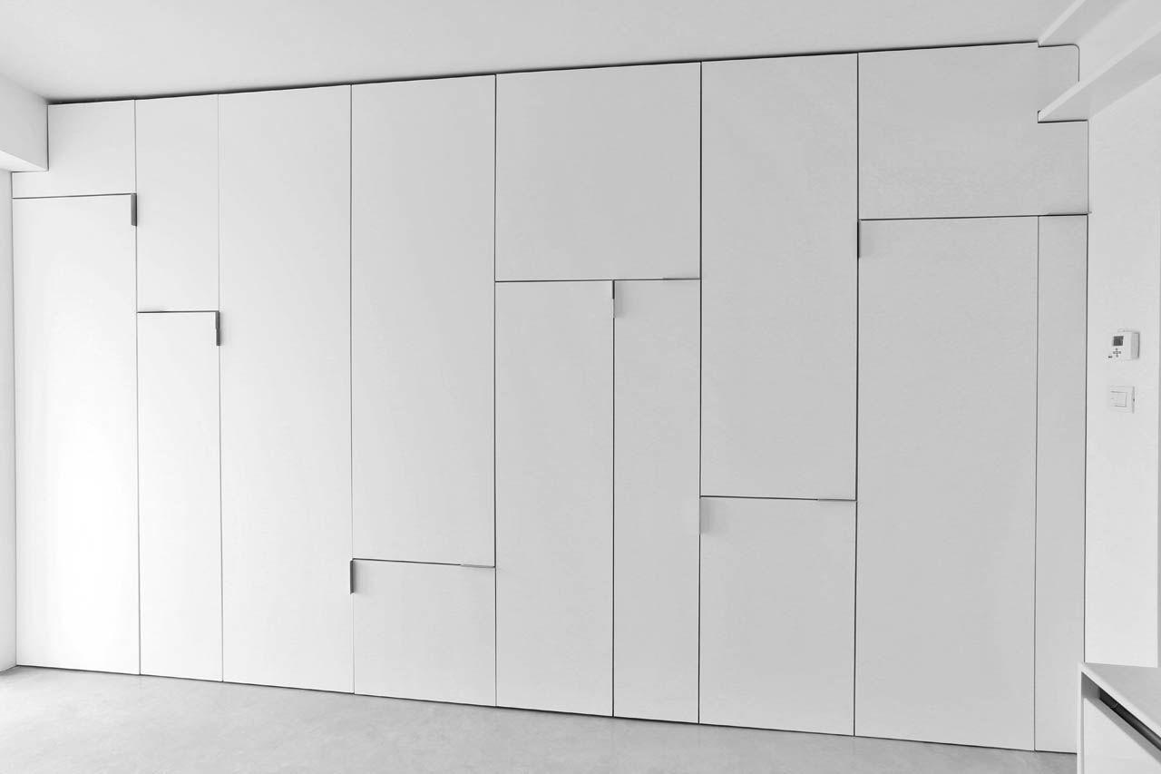 Yves deneyer menuiserie bois le dressing placard mural placard et menuiserie bois - Porte placard mural ...