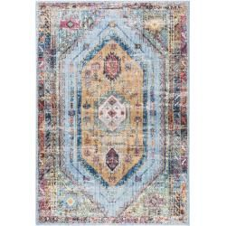 Photo of benuta Teppich Tara Multicolor/Gelb 160×230 cm – Vintage Teppich im Used-Look benuta