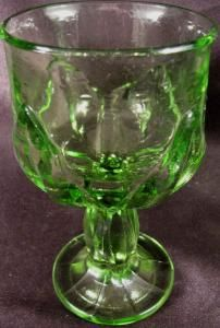 FRANCISCAN TIFFIN 6 INCH GREEN CABARET WATER GOBLET EXCELLENT CONDITION MORE AVAILABLE by Melsmemories