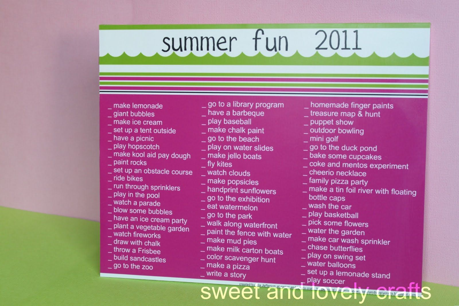 tons of summertime fun printables my delicious ambiguity